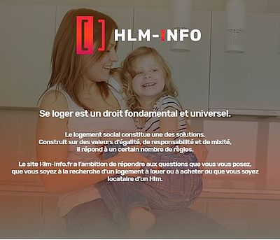 Hlm.info.fr, le nouveau site pour la recherche de logements