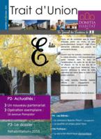 Trait d'Union n°10 - Octobre 2015