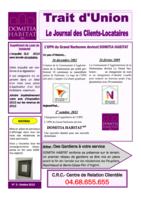 Trait d'Union n°3 - Octobre 2013