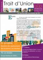 Trait d'Union n°7 - Janvier 2015