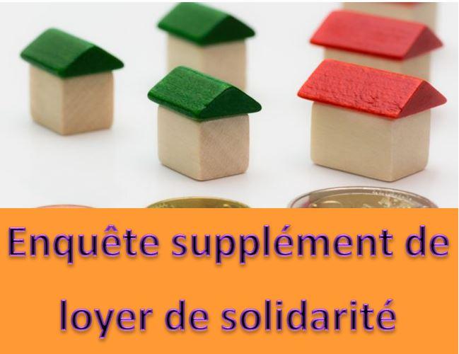 Enquête Supplément de Loyer de Solidarité